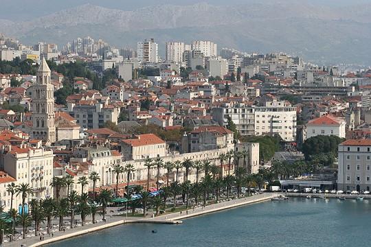 Das berühmteste Wohnzimmer Kroatiens, die alte Riva