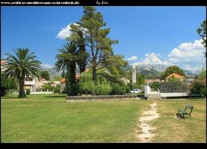 Rundgang auf Gospin Otok mit der Crkva Sv. Marije