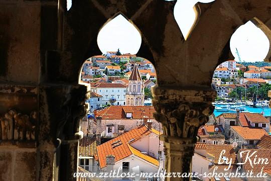 Die Aussicht vom Glockenturm aus