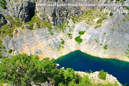 Modro Jezero: Obere Aussichtsplattform