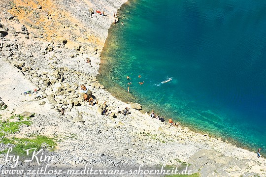 Abkühlung im Modro Jezero