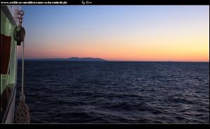Die Insel Vis in Sicht