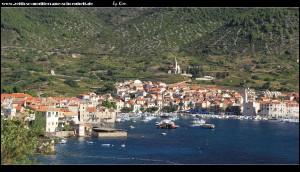 Wanderweg auf der nördlichen Halbinsel mit sensationellem Ausblick auf Komiža