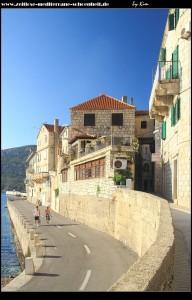 Halbinsel mit dem ältesten Teil der Stadt