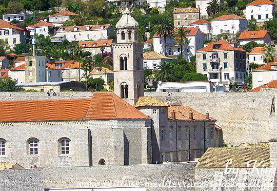 Blick auf das Dominikaner Kloster
