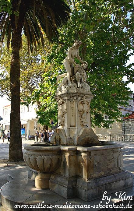 Brunnen am Pile