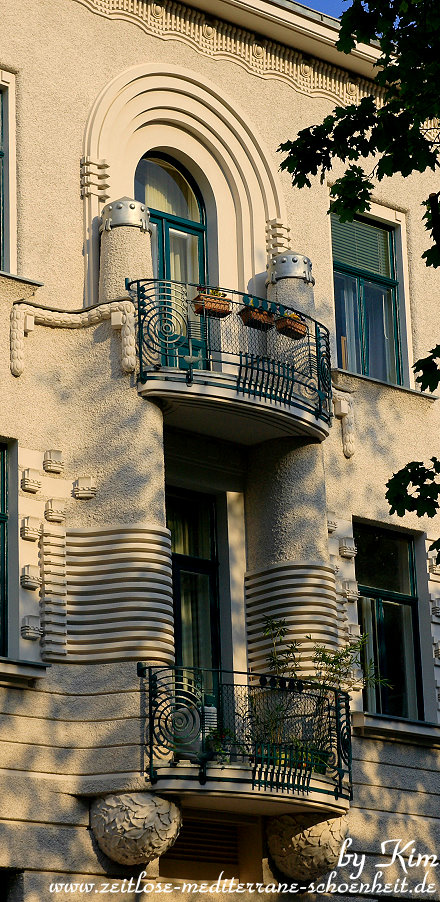 hübscher Balkon