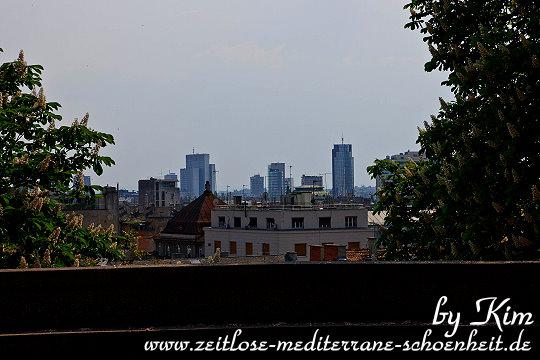 Blick auf Novi Zagreb