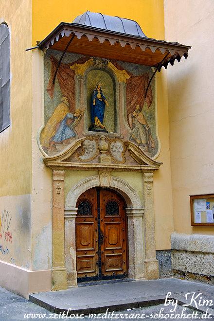 Beeindruckender Eingang in der Nähe des Dolac