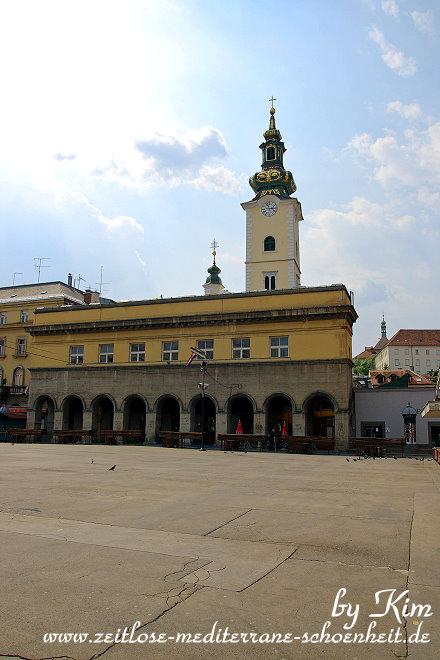 Markt Dolac und die Marienkirche