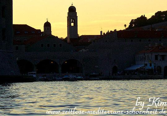 Sonnenuntergang in Dubrovnik
