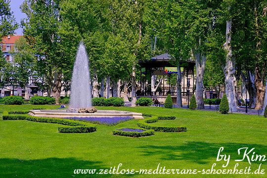 Rund um den Zrinski Park