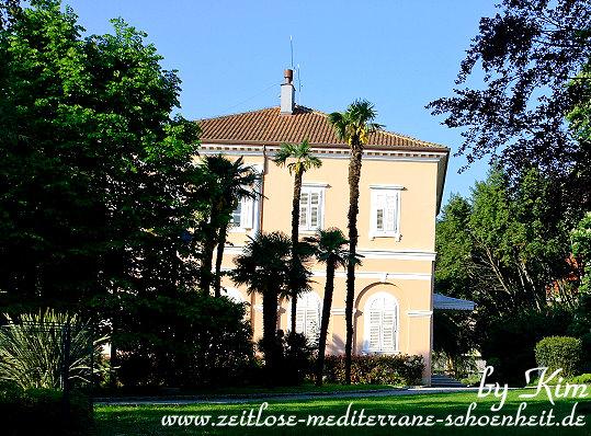An der Villa Angiolina
