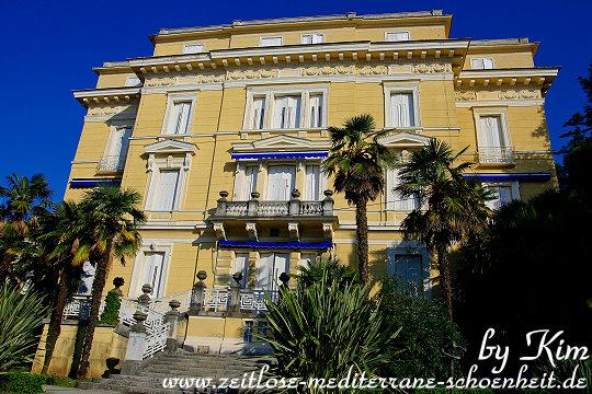 Villa hinter dem Hotel Kvarner
