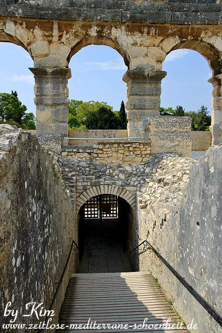 Zugang zu den unterirdischen Räumen