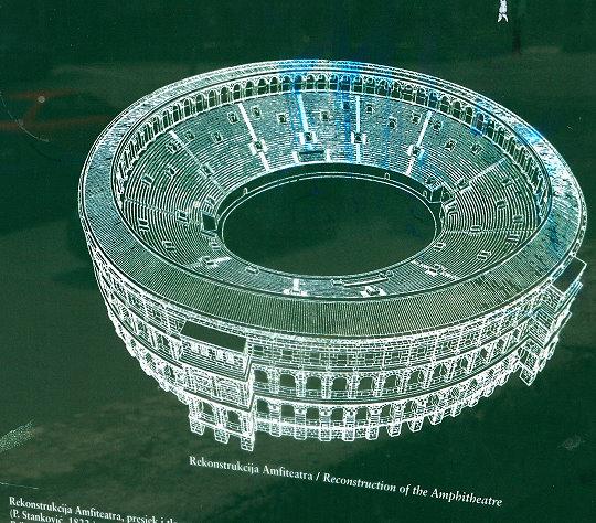 Rekonstruktion der Arena