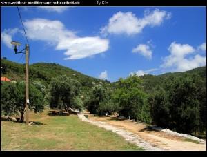 Rundgang durchs Dorf - der Campingplatz