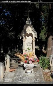 Der kleine Friedhof an der Kirche
