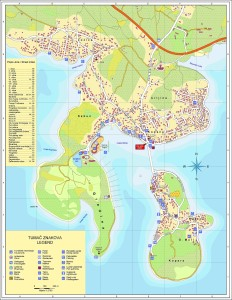 Mapa Rogoznica