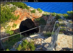 Blick in die Höhle