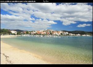 Strand an der Franje Tuđmana