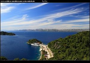 Meine Favoriten - Impressionen vom Fährhafen vor der sensationellen Kulisse der Elafiten und dem Festlandgebirge