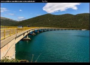 Brücke über die Bistrina-Bucht