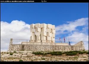 Das Denkmal an die im Krieg Gefallenen