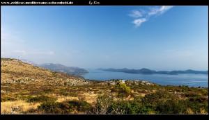 Fahrt von Hochplateau runter nach Doli mit tollem Ausblick auf die Elafiten