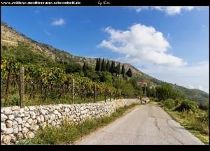 Straße von Podgora nach Mravinca
