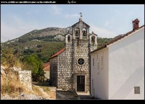 Die Pfarrkirche Sv. Rok in Ošlje