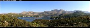 Panoramaausblicke von der Magistrale im Südosten