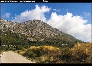 Blick auf Podgora und den Knezao