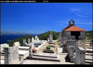 Die Kirche samt Friedhof