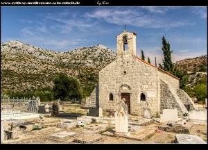 zwischen Stupa und Ošlje - die Kirche Sv. Petra i Pavao