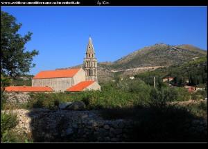 Blick auf Kloster und Kirche Sv. Jeronim