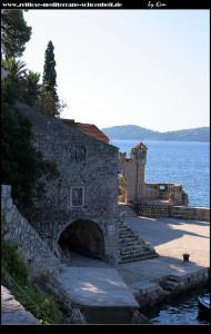 Das Schloss samt Hafenanlage - einfach ein wunderschönes Ensemble