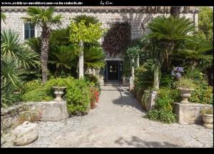 Rund um die Ferienresidenz der Familie Gučetić-Gozze