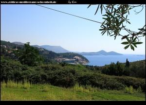 Blick nach Dubrovnik/Lapad