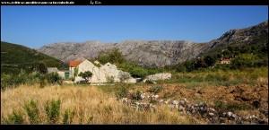 Ruinen bei Čajkovica