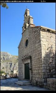 Kirche Sv. Duh samt Friedhof und tollem Ausblick