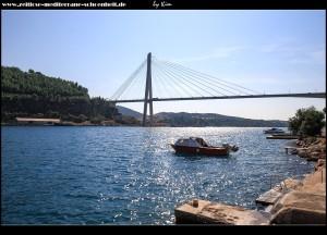 Stara Mokošica - Blick auf die Brücke