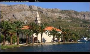 Rožat - Blick aufs Franziskanerkloster