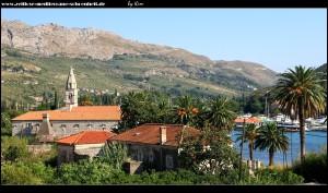 Blick auf das Kloster von der Magistrale aus