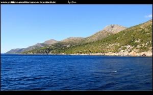 imposante Küste Süddalmatiens