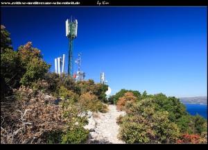 Fernmeldeturm am Gipfel