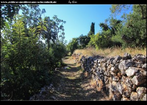 Weg zur Kirche Sv. Antun Padovanski
