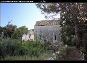 Crkva Sv. Ivan - der altkroatische Bau dient dem neueren heue als Apsis