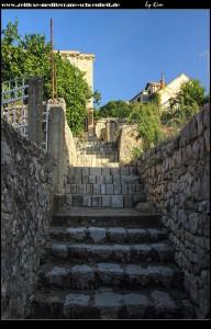 Rauf auf den Berg Polačica