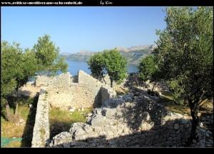 auf der spanischen Festung mit sensationellem Ausblick